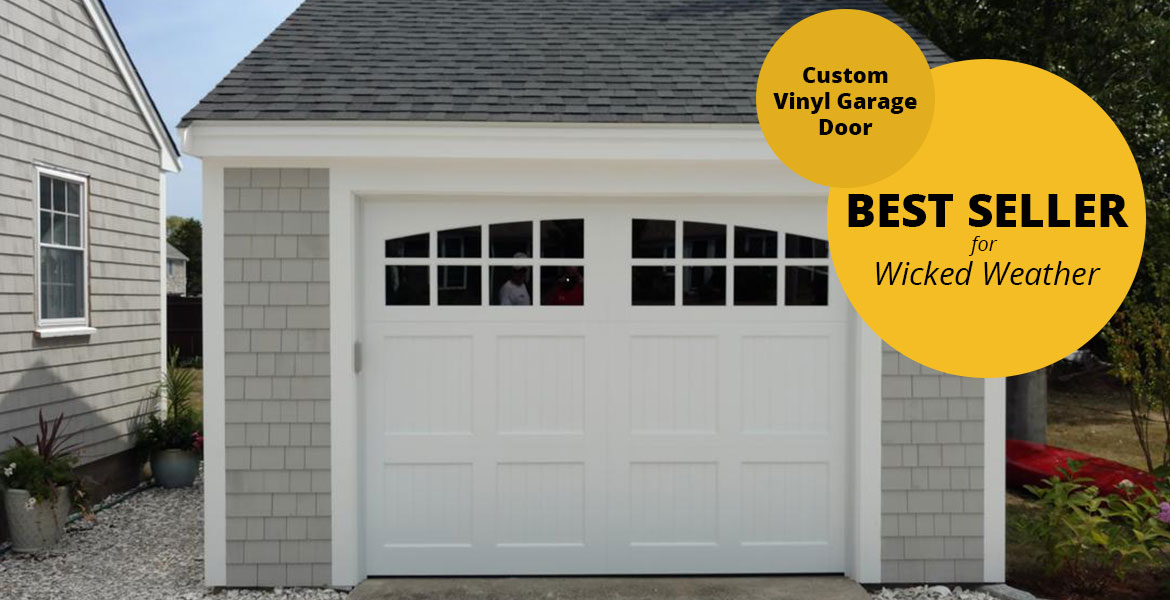 Custom Vinyl Garage Door - A Great Product for Homes Located on the Water